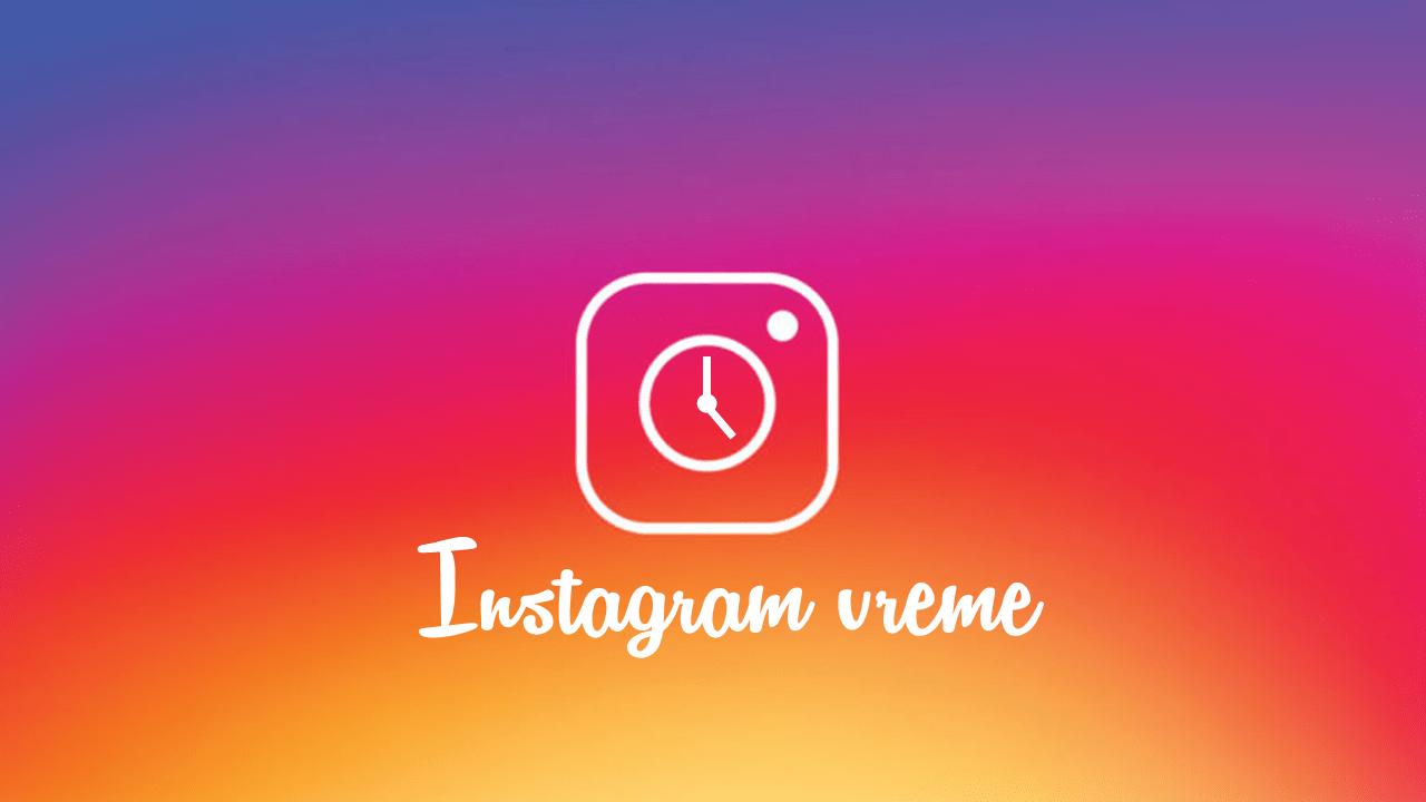 Najbolje vreme za Instagram objave