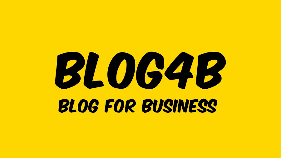 BLOG4B – blog for business
