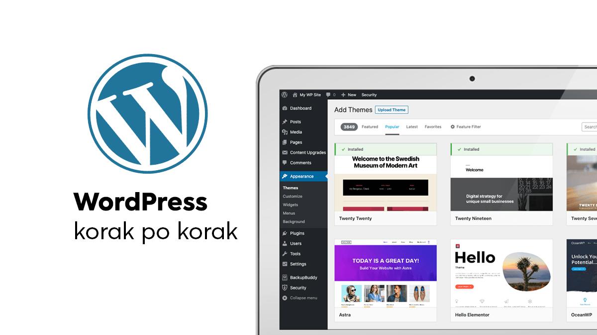 wordpress-tutorijal-korak-po-korak